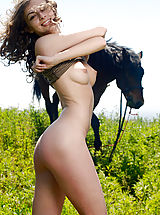 Labia, Awesome Angel with a Horse