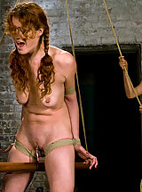 Kink Pics: Donna shocks, tortures and fists willing submissive Sabrina
