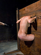 Kink Pics: Girl in body stocks and extreme caning!