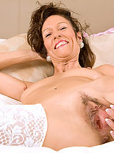 Hairy Twat, Mature milf India loves playing with her pussy with a pink dildo until she explodes in orgasm