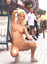 behaarte möse, cynthia 01 public nudity shaved pussy