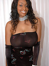 Content of Carmen Hayes - My chocolate luv bunny came over to my house. We got all dolled up for a sexy big titty photoshoot. I couldn't keep my hands off of her mocha mounds and it quickly turned into a lick fest. My husband discovered us on the...