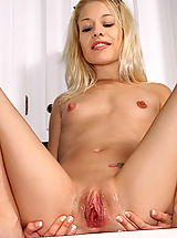 bald pussy, morgan 04 kitchen large labia big pussy lips