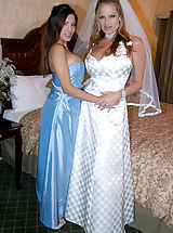 Playmates Pics: Content of Alexis Amore - Alexis was such a beautiful bride's maid. She looked sexy as hell in that dress. What made it even better is that after the ceremony we went back to my hotel room and took turns with the groom and his big, juicy cock...
