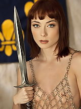 Fantasy Babes: WoW nude zoe keeper of the blade