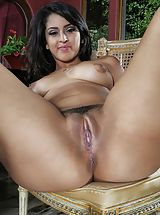 Cunt, Photo Set No. 1314 Sophia Leone unveils her sizeable boobies and spreads her god given cunt