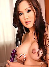 Hard Nipple Babes: Asian Women sunny wei 03 toying vagina in lingerie