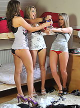Lesbian Babes: StMackenzies on November10 Candice Collyer and Cat O-Connell and Naomi Raine 2