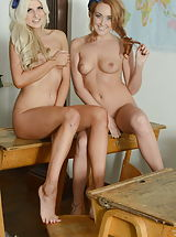 Lesbians Pussy: Courtney Tugwell and Lucy-Anne Brooks
