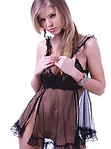 Lingerie Babes: Passionate and amazing blonde beauty wants you come close and take a glance at her beautiful body.