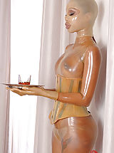 Fetish Babes: Katia D Lys, Latex Lucy