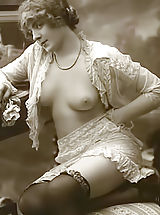 Vintage Babes: Clasic Antique XXX