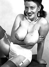 Vintage Babes: I Just Found These Photos of Hot Nude Busty Ladies of 1950s Hidden In a Loft by My Father's and Their Sexuality Has Blown Me