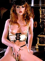 Suze Randall Pics: Julia Hayes is a golden wet dream