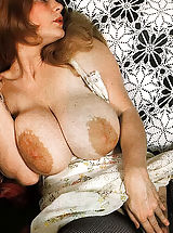 Hot Naked 70's Chicks With Massive Unshaven Bushes And Big Tits Being Fucked