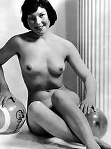 Nude Babe, Vintage Porn at its best from Vintage Cuties