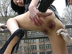 Pussy Video, 2,Elbow Deep Fisting  AND RITA FIST EACH OTHER HOLES OUTSIDE ON TARRANCE
