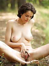 ebony pussy, Sexy milf Rimma in the wild naked and beautifully hypnotic and seductive