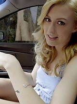 Alexa Grace gets her stepbrother to help her out by sucking his cock and giving him a stiffie ride in her bald twat