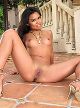 Black Babes: Closeup Pussy  #774 Cindy Starfall
