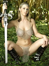 WoW nude avelia hanging tits forest