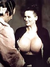 Vintage Babes: Rare To Find Antique Bare Photos of the Owner of the Biggest Breasts in the World - Chesty Morgan - Shot In 1970s