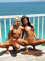Small.Tits Pussy: kacey jordan and tanner mayes on island erotica toying pussy pump lesbos