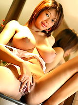 Asian Babes: Asian Women alysia 06 kitchen hanging tits