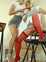 Secretary Pussy: StMackenzies on August10 Emma-Claire Jones and Layla Lovejoy